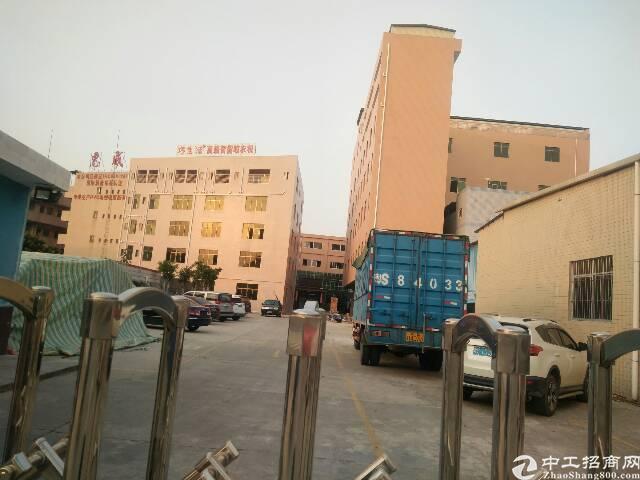 虎门国道边标准独院厂房,九成新30000方,