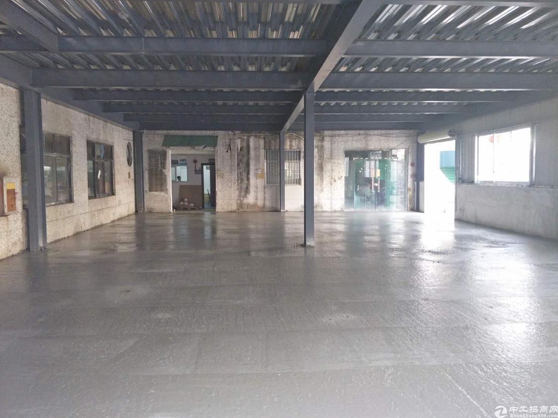黄江镇中心实业客分租一楼500平米厂房,可做仓库