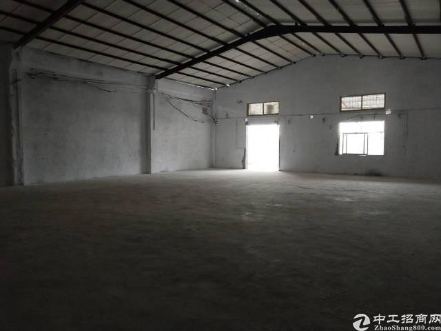龙岗坪地环城路边独院钢构厂房3100平米出租,可分租