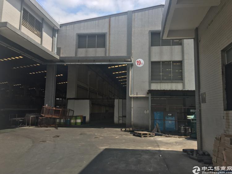 大岭山新空出3800平滴水10米有氧化牌照原房东厂房出租