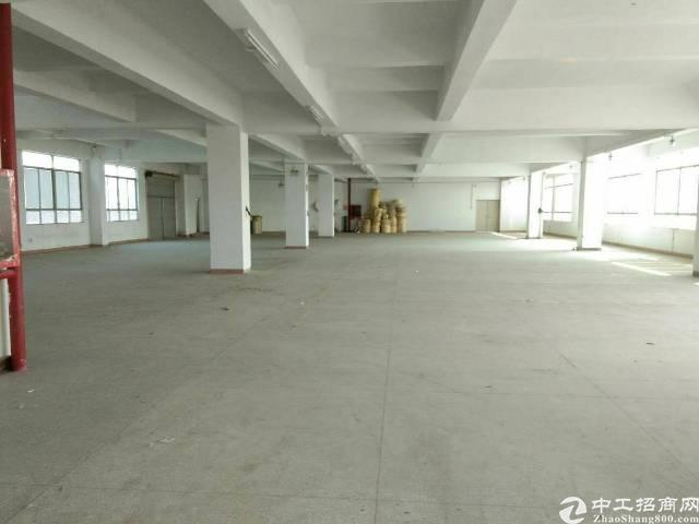 松岗洪桥头工业园新出楼上整层1180平方米