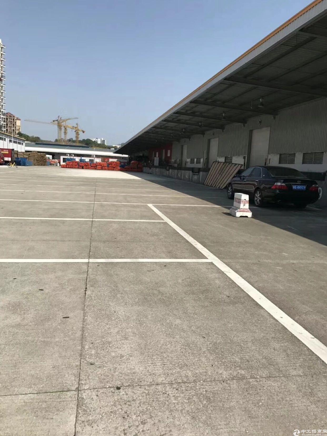 坂田明治标准物流仓10米高8000平方可分租