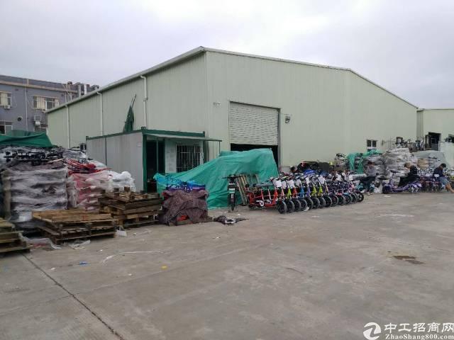 横沥镇工业区内800平方钢构厂房出租