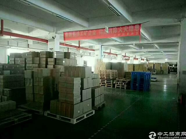 福永宝安楼上带装修厂房1500平米出租