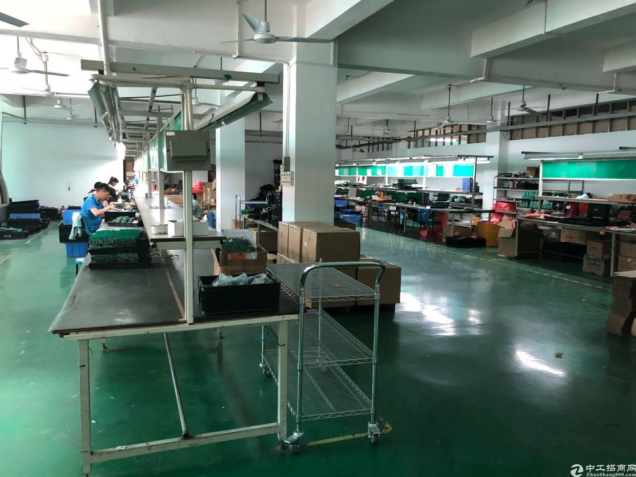 西丽阳光工业区楼上600平带装修厂房招租