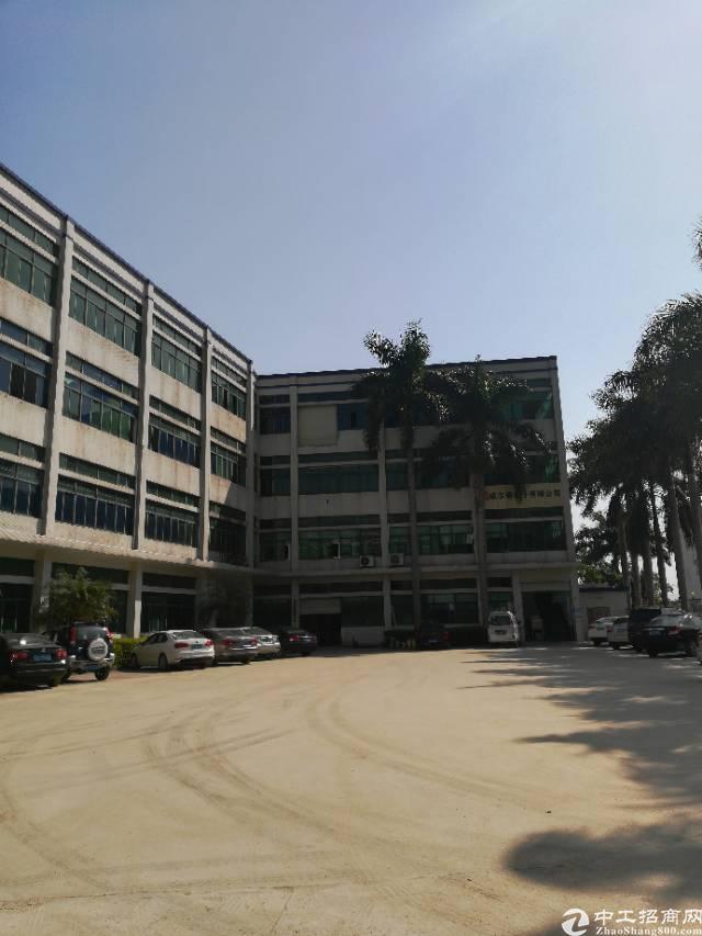 坪山碧岭新出原房东独院厂房一楼808平米贸易办公室出租