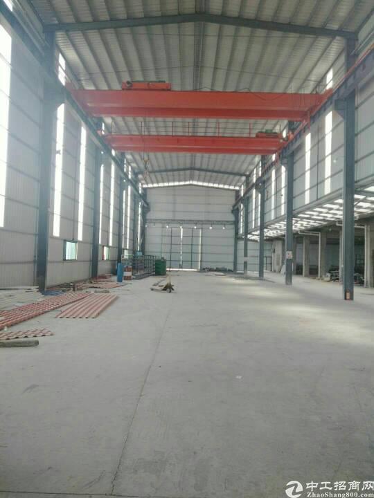 稀缺10米高钢结构厂房450平方,现成装修