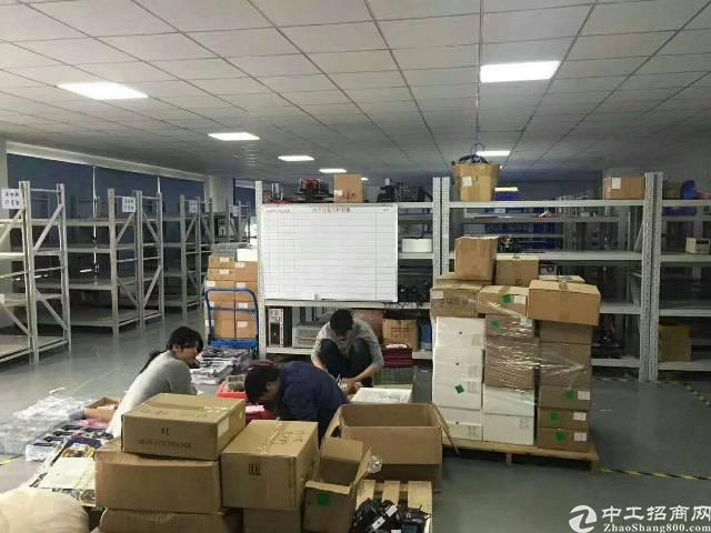 福永楼上2500平方厂房出租-图4