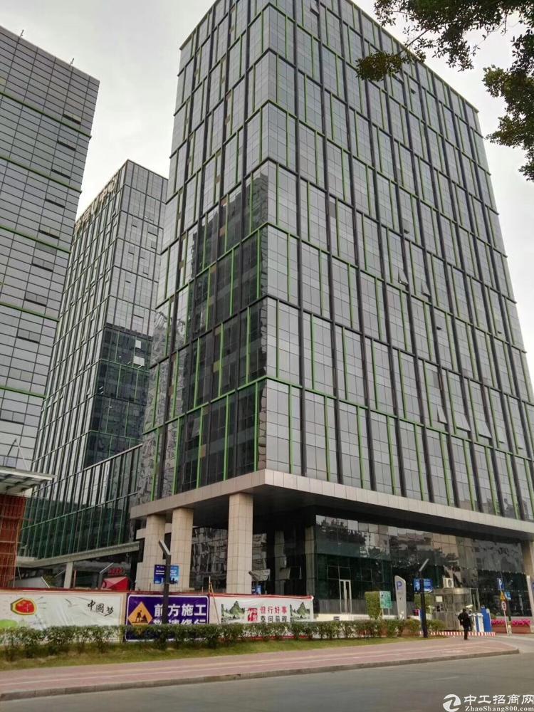 福永地铁旁甲级写字楼招租,大小可分,