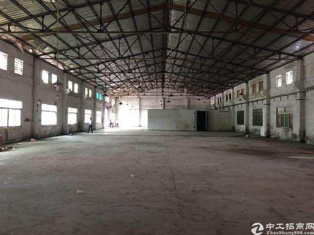 大岭山镇107国道边新出钢构带牛角厂房2000平米出租