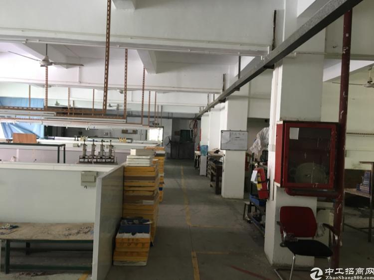 横岗安良独院二楼带装修1200平米厂房出租