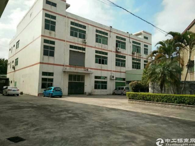 大岭山空地大厂房2700平米出租,一楼5.5米高