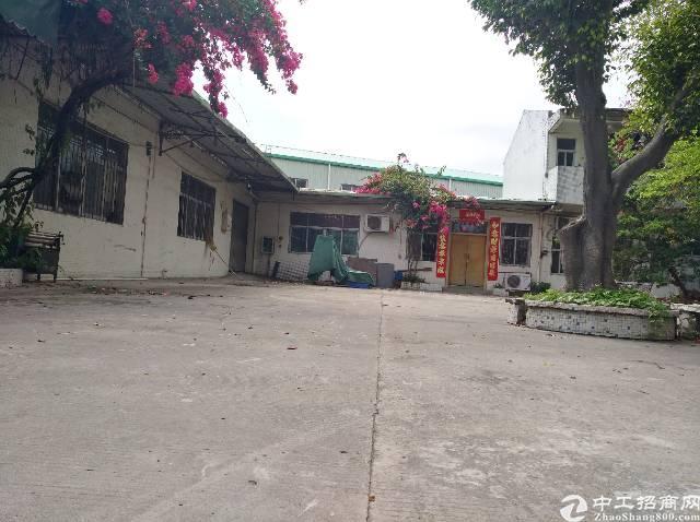 黄江靠近深圳独院单一层厂房出租