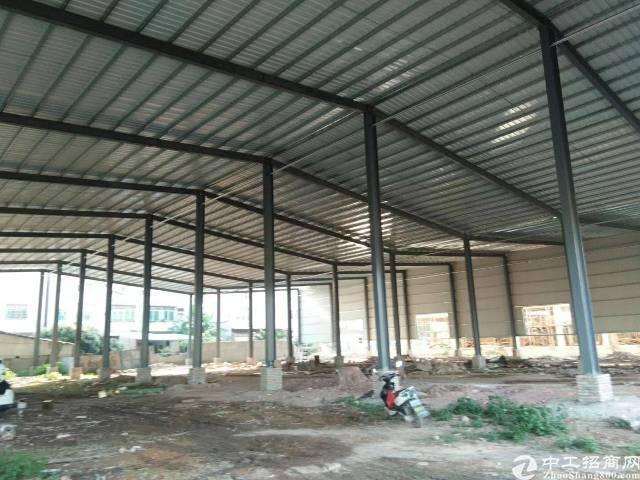 全新独院钢构厂房出租