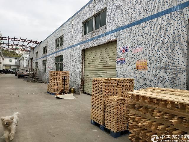 龙岗坪地六联独栋钢构厂房3000平高8米有办公室装修