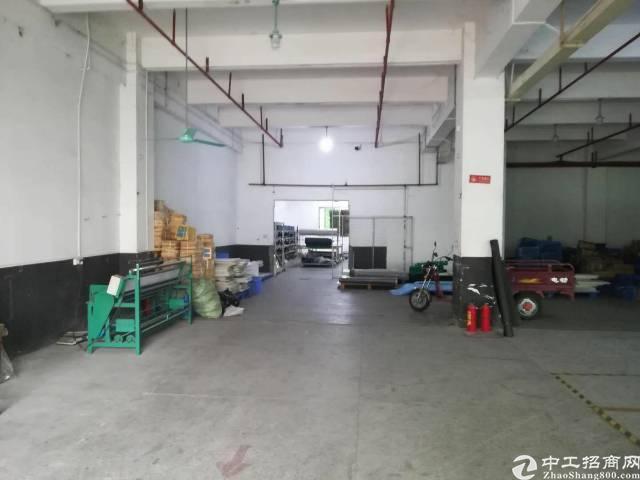 厚街新出一楼标准厂房办公2300平方米招租