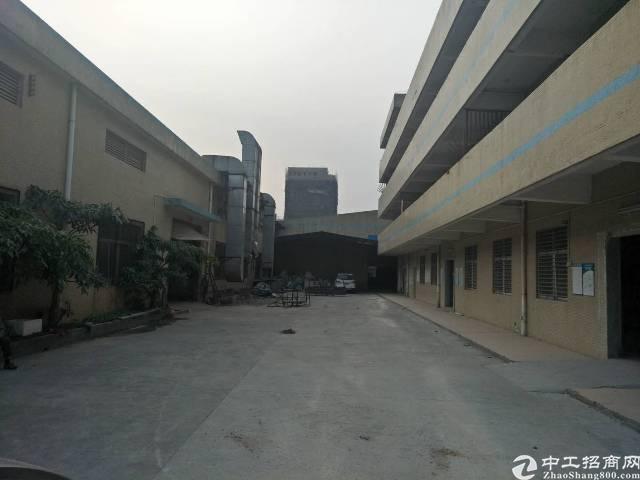 长安靠近深圳1000平米钢构,可分租