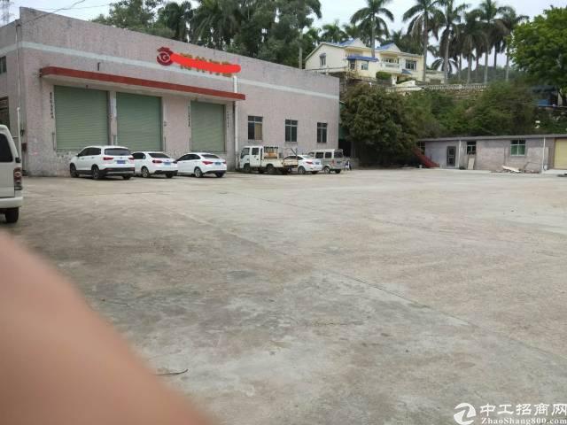 龙岗中心城北通道旁独院钢构1350平(带卸货平台)