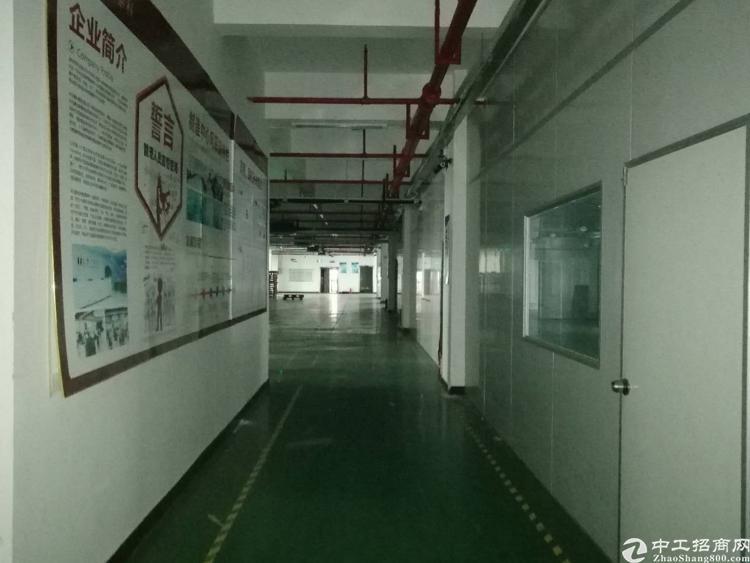 大浪福龙路出口优质厂房3楼2800平米,带装修