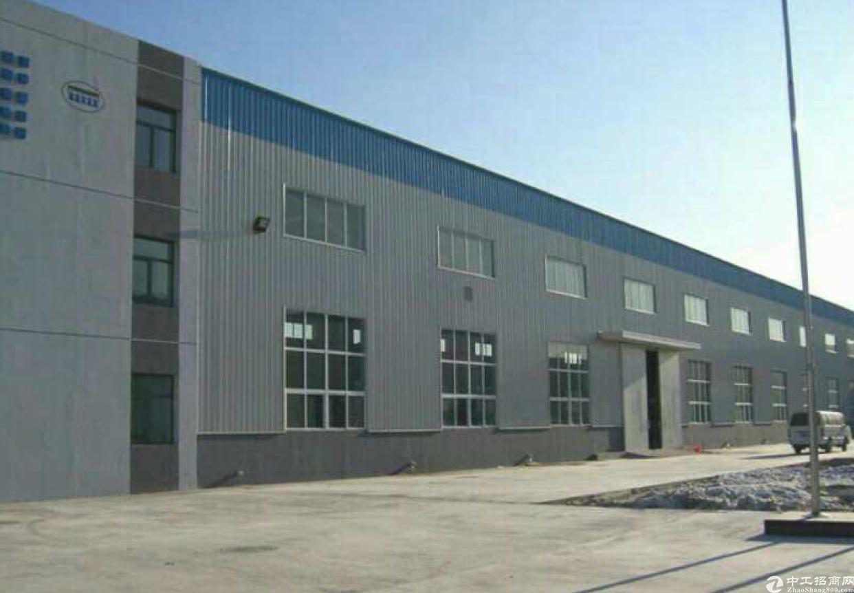 陈江镇独门独院单一层滴水七米钢构厂房2500平方出租