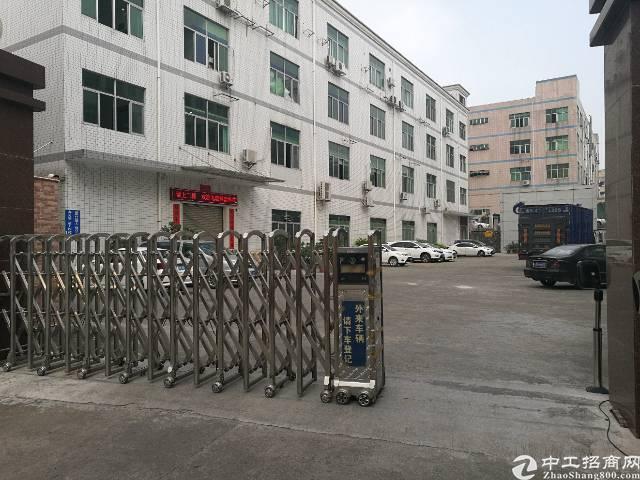 龙华大浪义乌附近新出原房东独院1100带装修的厂房招租