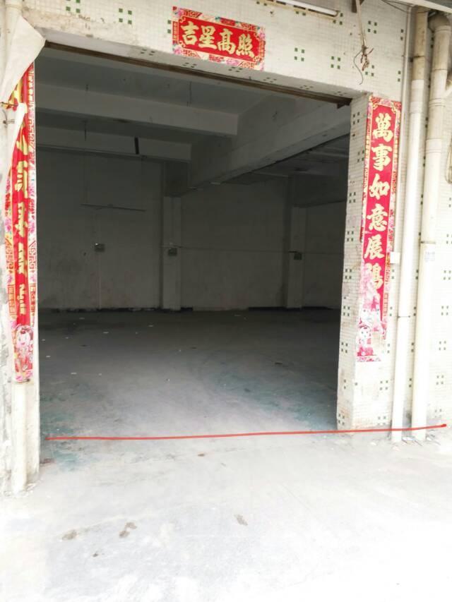 位于固戍和107国道旁边仓库一楼600平方出入方便空地大