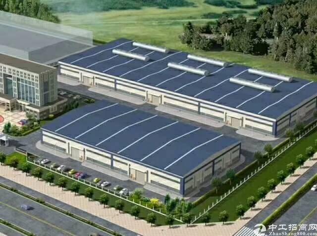 惠阳新圩新出独栋8米高钢构厂房面积6400平大小可分租