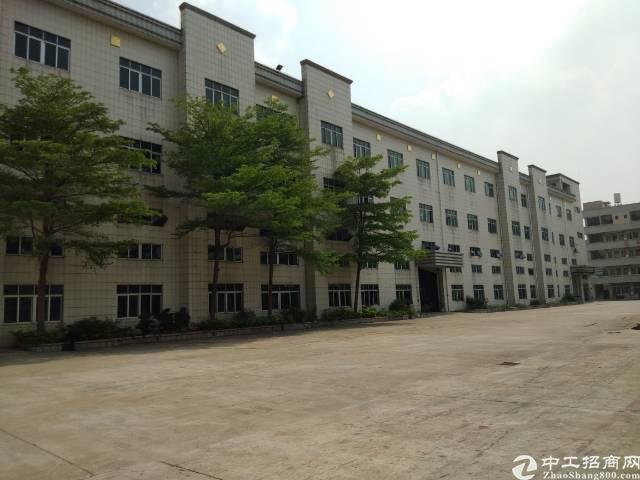 常平白石岗工业区独院标准电子厂房分租4000平米!