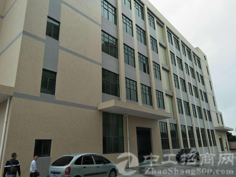 茶山镇带红本可办环评,空地超大全新独院标准厂房五层12500
