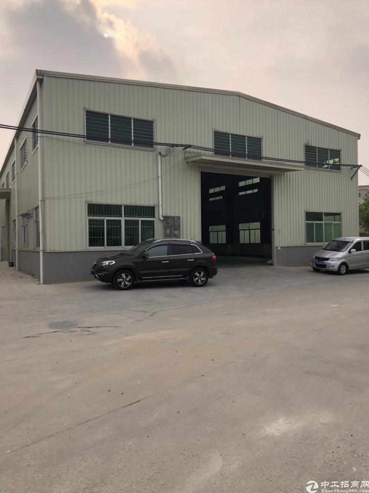 横沥田饶步钢构厂房1200平方滴水9米