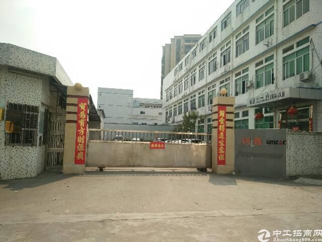 虎门沿江高速出入口新出九成新独院厂房1-4层20000平方-图2