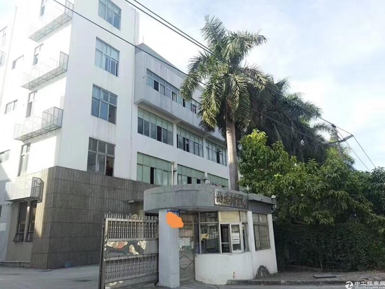 布吉上李朗红本独院厂房1-5层8400平方可分租