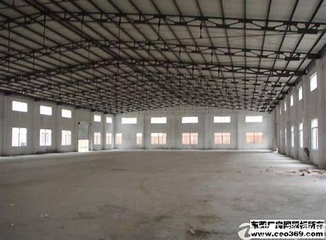 东莞市厚街桥头村院厂房3800平单一层独招租