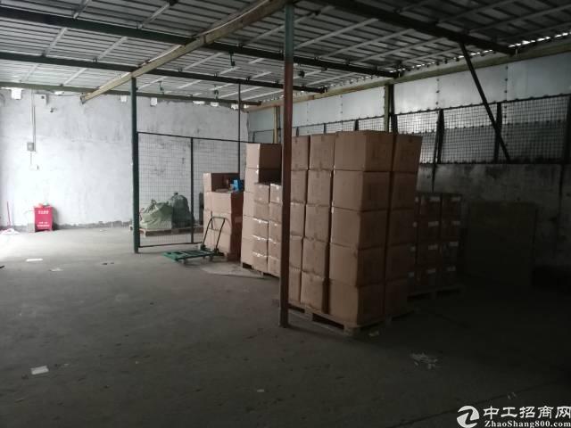 福永镇新田工业区一楼150平方铁皮房招租