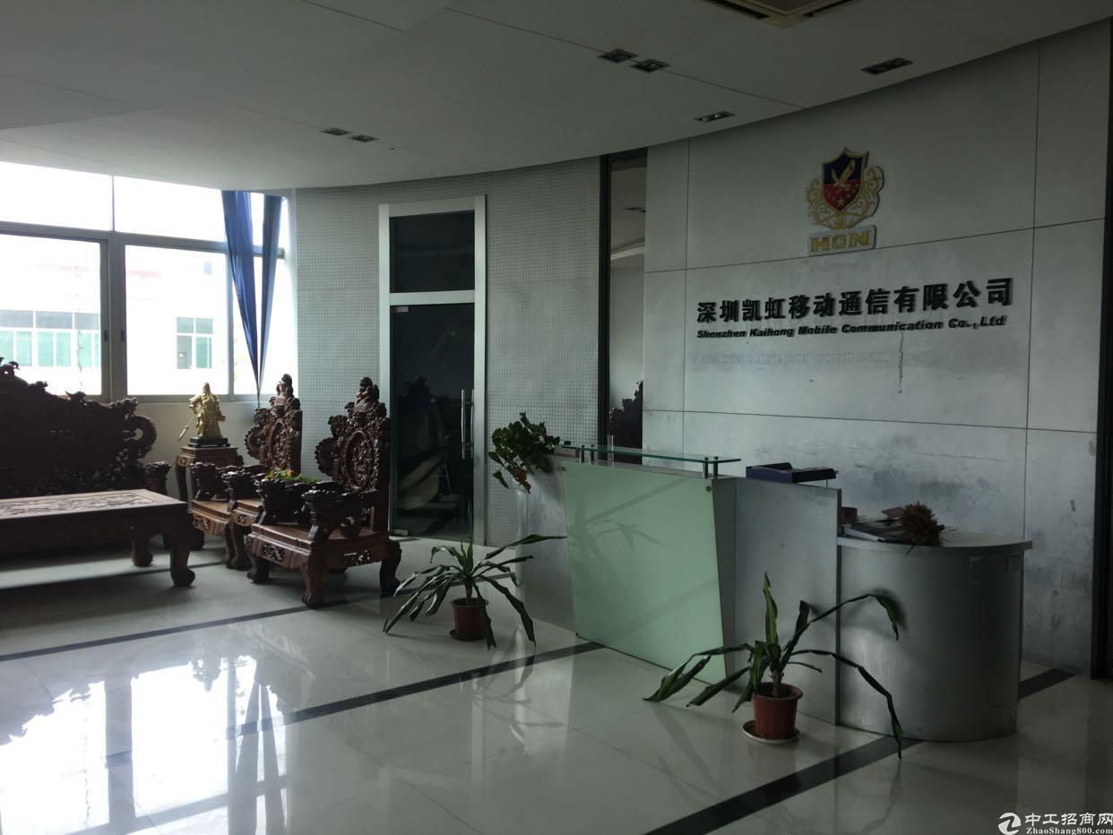 福永塘尾新出楼上2000平米带豪华装修厂房出租