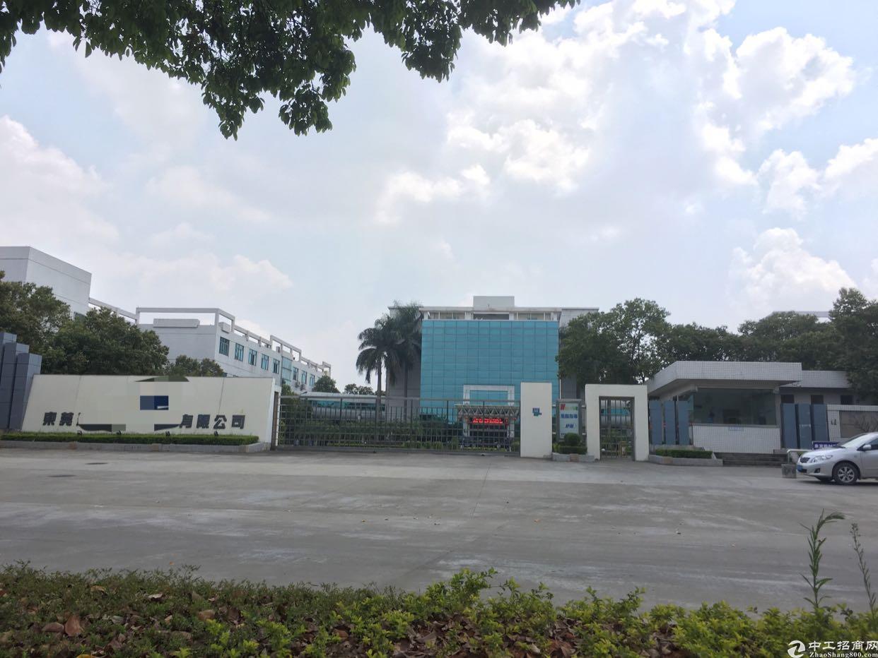 东莞清溪镇三中5万平米花园式工业园出租有房产证