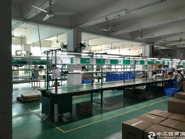福永塘尾大型工业区1000平米带装修厂房急租-图6