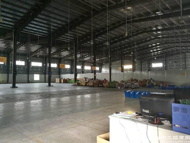 惠州惠城区新出8000平物流仓储厂房出租