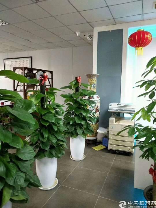 沙井镇沙一工业区靠近福永二楼1200平方,有装修,符合安检