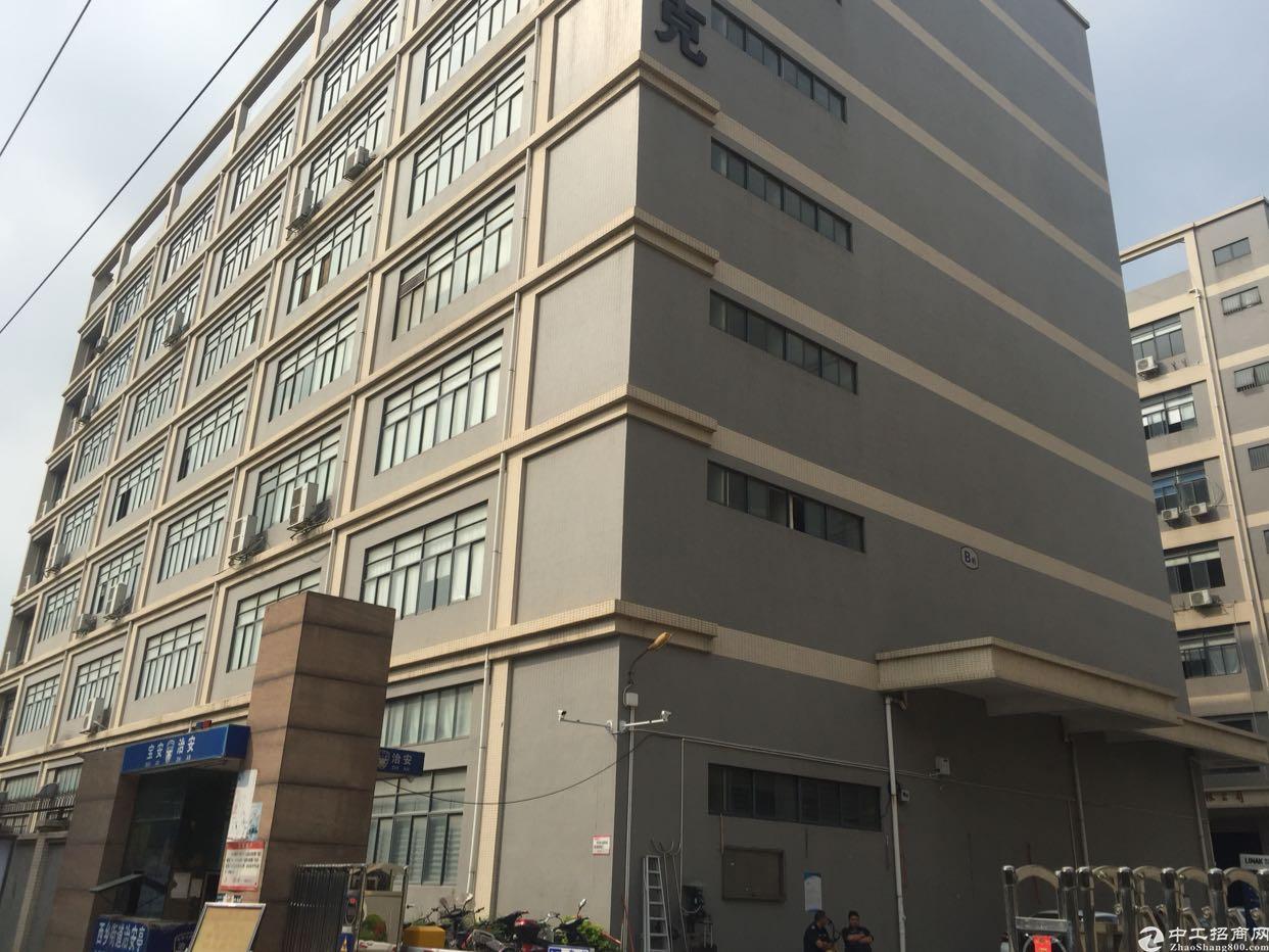 西乡固戍地铁站附近楼上800平米厂房出租