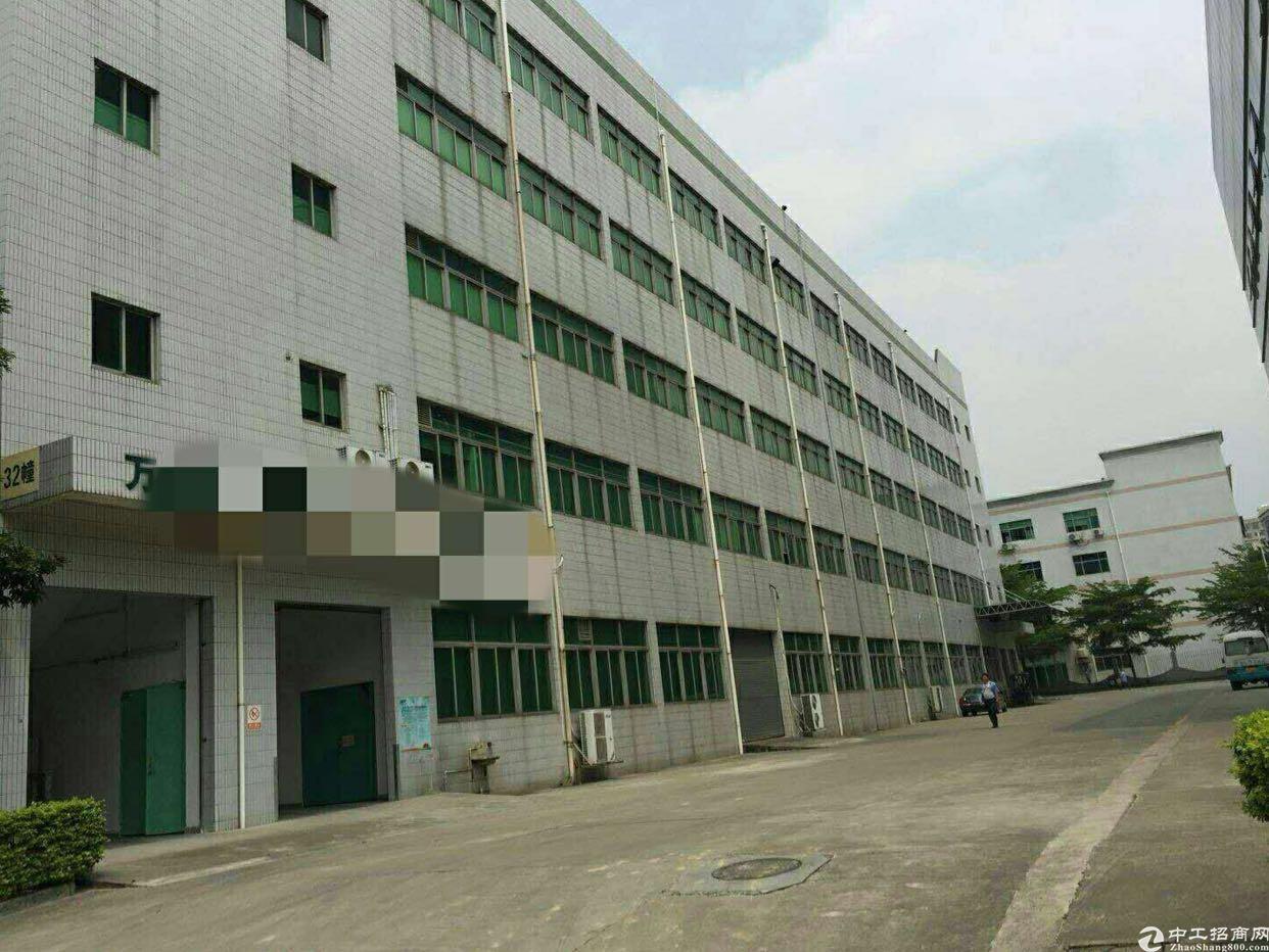西乡固戍楼上1600平米厂房出租带装修