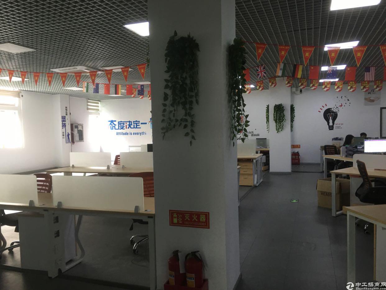 福永沿江高速楼上1050平方带装修出租