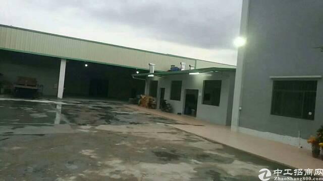 原房东独院单一层钢结构厂房2000平方