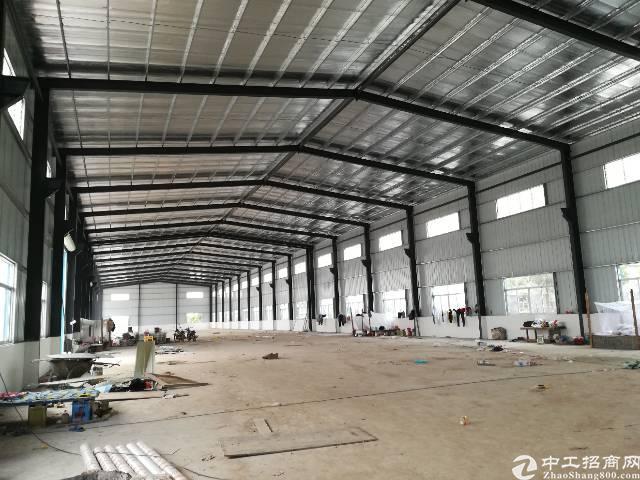 黄江田心新建钢构厂房3000平方出租