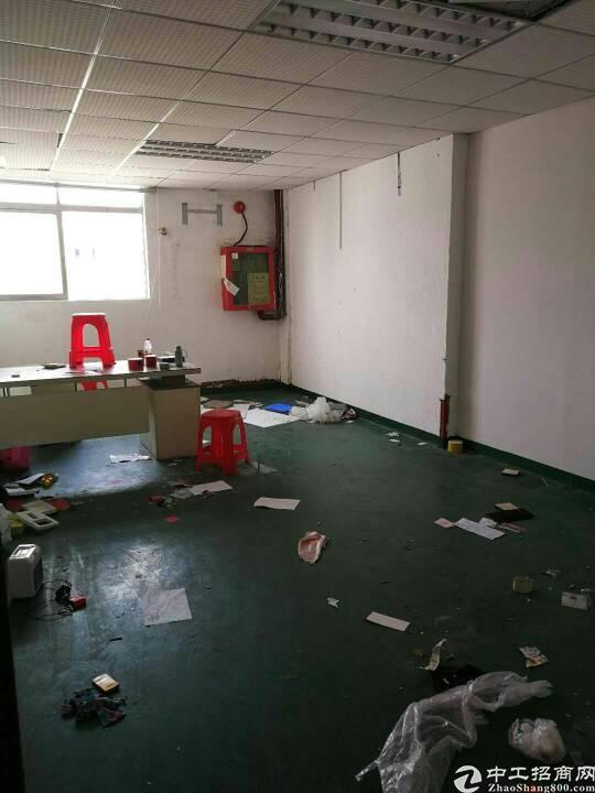 松元楼上带办公室装修标准厂房750平出租