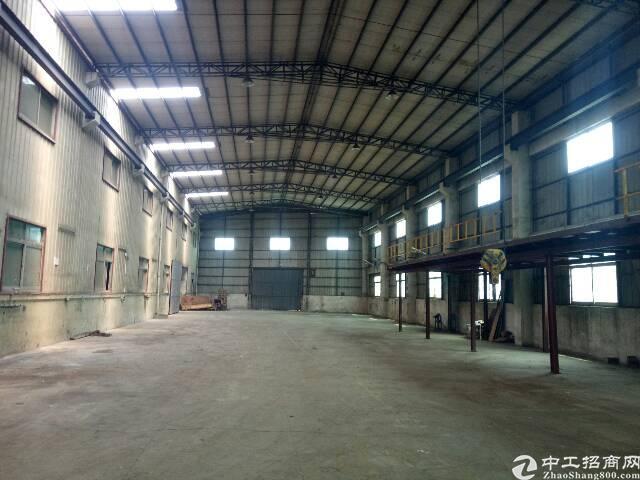 黄江镇独门独院优秀厂房  带行车