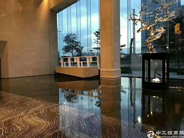 西乡107国道边高层精装修甲级写字楼326平方招租