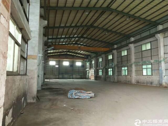黄江刁朗新出九米带行车钢构厂房招租