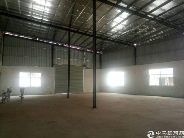黄江镇全新独院钢构厂房1100㎡出租!可做污染行业!