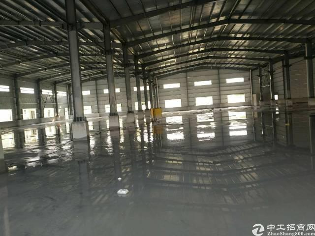 茶山新出独门独院,单一层厂房2800平方,高度7米,宿舍10